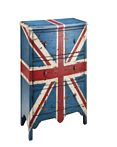 Madison Park Artisan British Flag Accent Chest