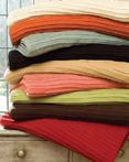 Pleated Knit Blankets & Throws by Daniel Stuart Bedding
