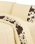 Cowhide Sheet Set by HiEnd Accents HomeMax  by HiEnd Accents