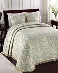 All Over Brocade Blue by Lamont Home