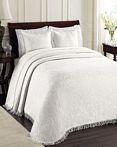 All Over Brocade White by Lamont Home