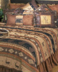 Autumn Trails by Carstens Lodge Bedding  by Carstens Lodge Bedding