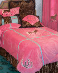 Cowgirl Leopard by Carstens Lodge Bedding