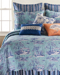 Hampstead Toile by C&F Quilts