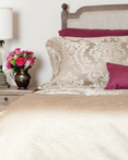 Ardere Gold Matelasse by St. Geneve Luxury Bedding