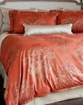 Fiorella Terracotta by St. Geneve Luxury Bedding