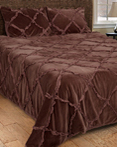 Posh Brown by Rizzy Home Bedding