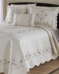 Amber Bedspread Collection  by Nostalgia Heirloom