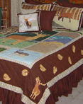 Brown Elk by Patchmagic Quilts