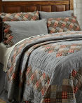 Beacon Hill by VHC Brands Quilt