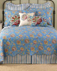 Jacobean Blue by Laurel & Mayfair Quilts