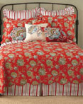 Jacobean Red by Laurel & Mayfair Quilts