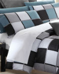 Coastal Squares by Daniadown Bedding by Daniadown Bedding