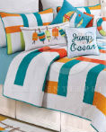 Zuma Bay by C&F Quilts