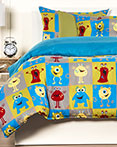 Monster Friends by Crayola Bedding by SiS Covers