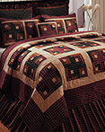 Cambridge Log Cabin by IHF Home Decor