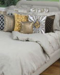 Linen Covington Stone by Rizzy Home Bedding