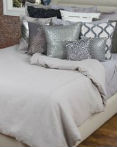 Linen Covington Silver by Rizzy Home Bedding