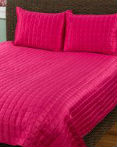 Hot Pink Shimmer by Rizzy Home Bedding