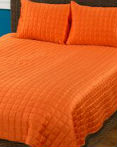 Orange Shimmer by Rizzy Home Bedding