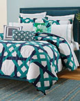 Pacifica Pier Lattice by Trina Turk Bedding