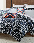 Indigo Ikat by Trina Turk Bedding