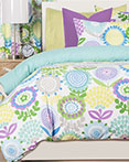 Pointillist Pansy by Crayola Bedding