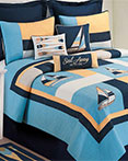 Channel Harbor by C&F Luxury Quilts