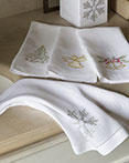 Holiday Bath Collection by Sferra Fine Linens