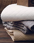 Linen Quilts by HiEnd Accents HomeMax