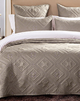 Fern Crystal Khaki by Calla Angel Quilts
