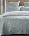 Fern Crystal Seafoam by Calla Angel Quilts
