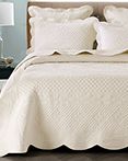 Sage Garden Ivory by Calla Angel Quilts