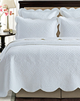 Sage Garden White by Calla Angel Quilts
