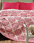 Adria Bright Rose by VHC Brands Quilts