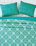Adria Spectra Green by VHC Brands Quilts