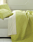 Rochelle Lime Sherbet by VHC Brands Quilts