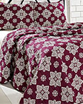 Adelaide Boysenberry by VHC Brands Quilts