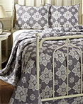 Adelaide Grey by VHC Brands Quilts