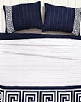 Athena Blue by VHC Brands Quilts