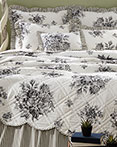 Josephine Black  by VHC Brands Quilts