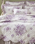 Josephine Orchid by VHC Brands Quilts