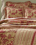 Elaine Rouge by VHC Brands Quilts