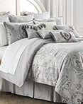 Whitney Platinum by Waterford Luxury Bedding