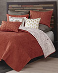 Kandula Coral Coverlet by Ink & Ivy Bedding
