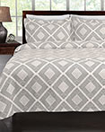 Equinox Grey Coverlet by Lamont Home