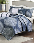 Rachel 6 PC Reversible Coverlet Set by Madison Park