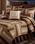 Shades of Brown by Park Designs Lodge Bedding by Park Designs Lodge Bedding