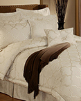 En Vogue Maze Pearl Off White  by Austin Horn Luxury Bedding