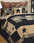 Jamestown Black & Tan by Olivias Heartland Quilts